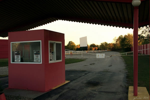 TICKET BOOTH AND SCREEN 2